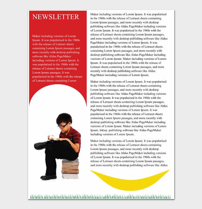 07 Newsletter Template