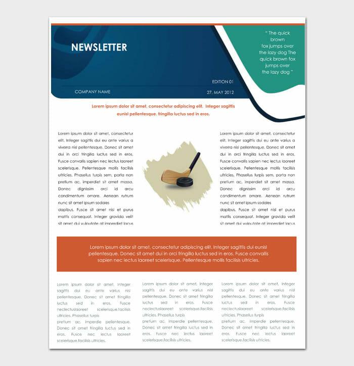 08 Newsletter Template