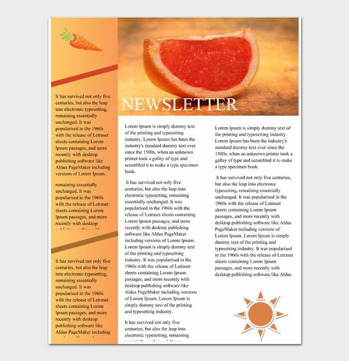 09 Newsletter Template