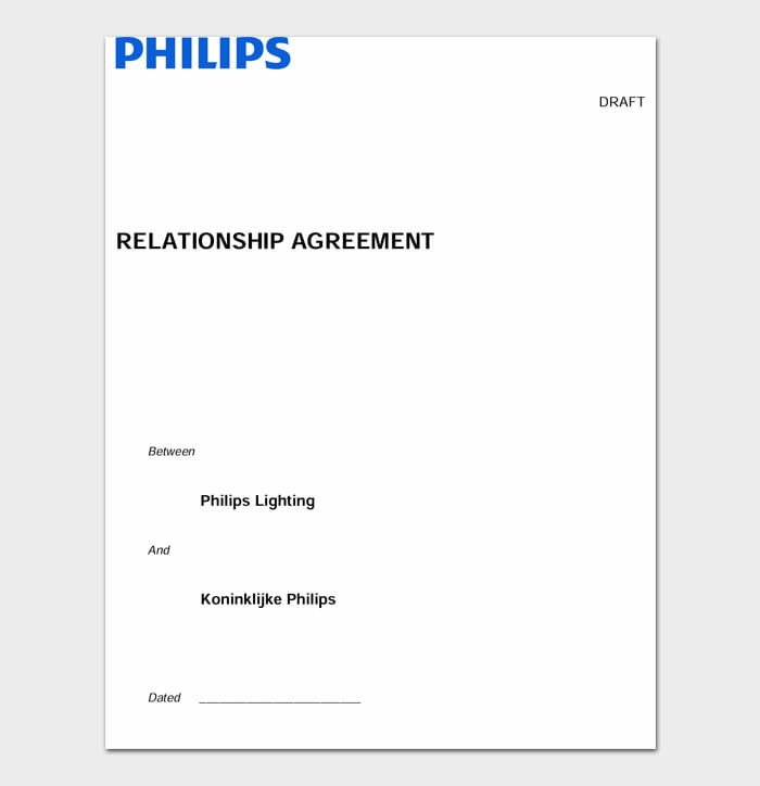 10 relationship contract