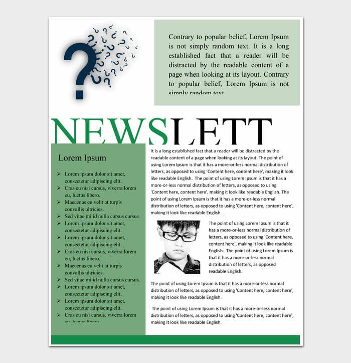 11 Newsletter Template