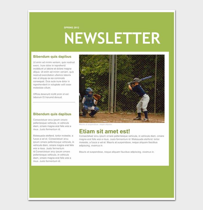 14 Newsletter Template