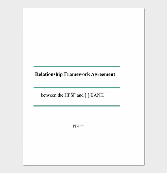 14 relationship contract