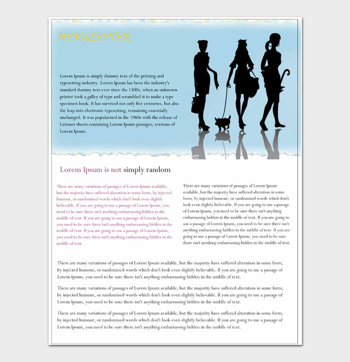 15 Newsletter Template