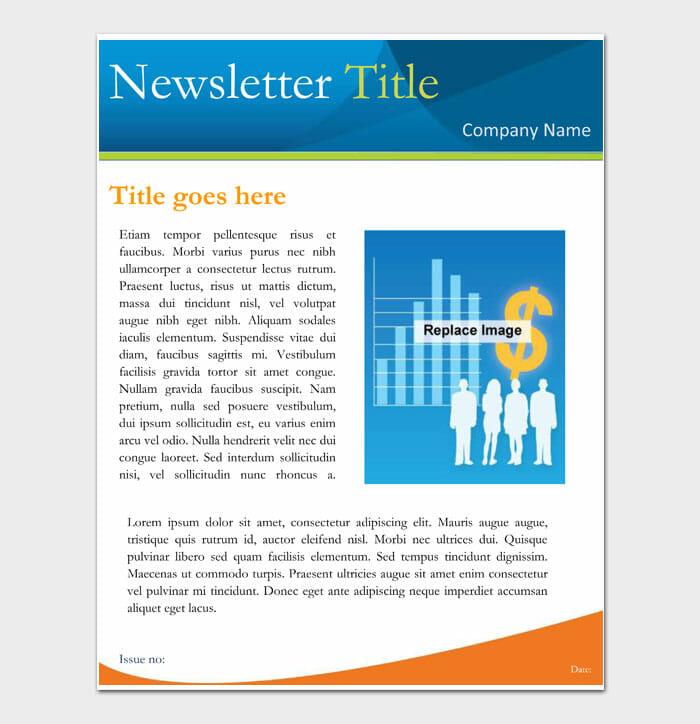 16 Newsletter Template