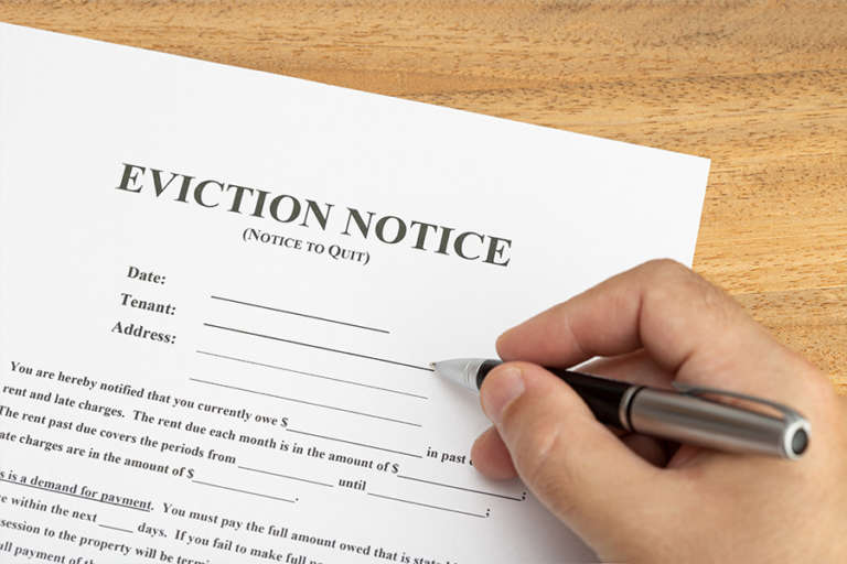 Free Eviction Letter Template & How To Write It