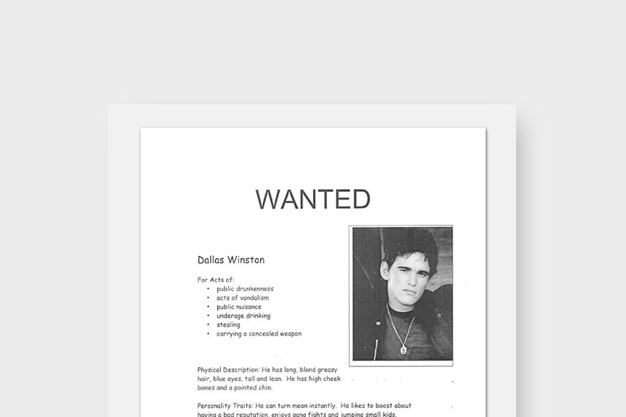 Wanted Poster Templates (Modern & Old West)