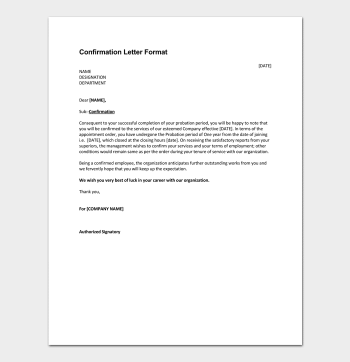 Trainee Appointment Letter - 10+ Sample Letters & Formats