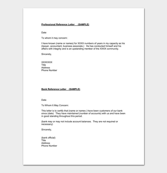 Accountant Assistant Reference Letter Sample