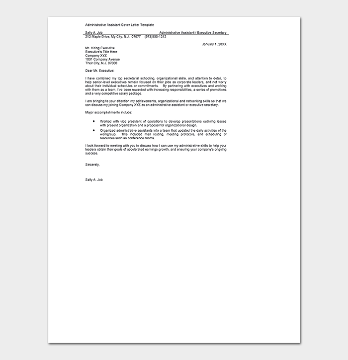 Generic Teacher Cover Letter from images.docformats.com