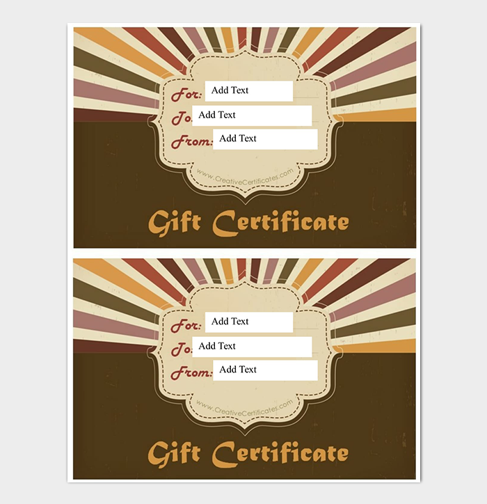 44 free printable gift certificate templates for word amp pdf