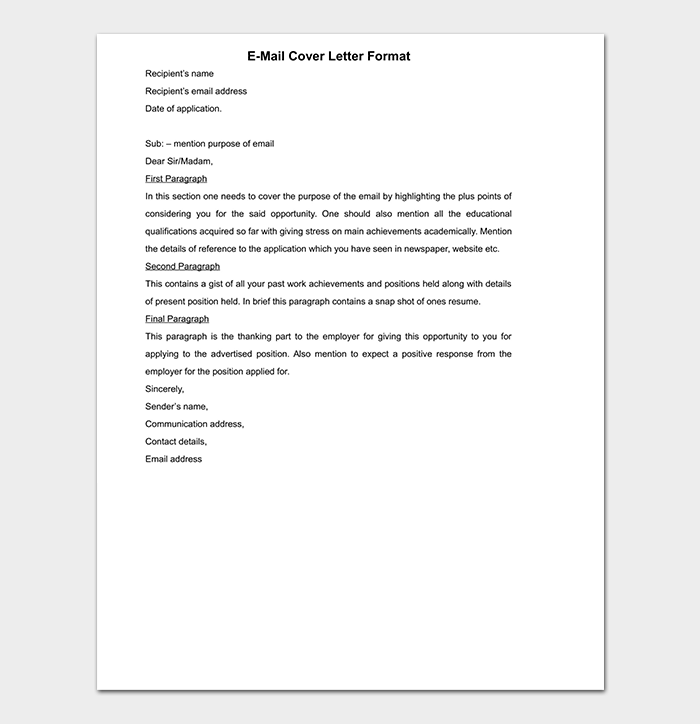 Cover Letter To Unknown Person For Your Needs | Letter ...