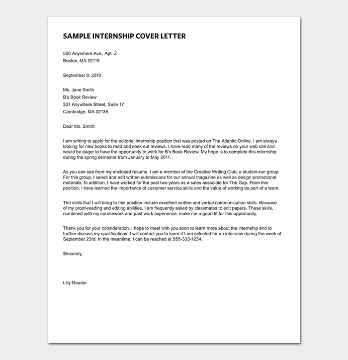 Magazine Editorial Assistant Cover Letter Research Paper Example