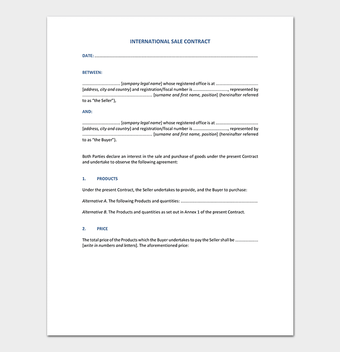 Conditional Sale Agreement - 17+ Samples, Examples & Templates