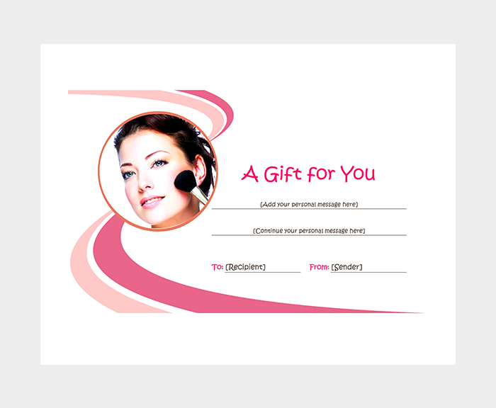 free beauty gift voucher template - 44 free printable gift certificate templates for word pdf