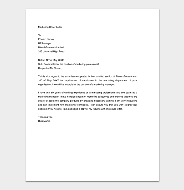 Job Application Cover Letter Doc Top Display Comfortable