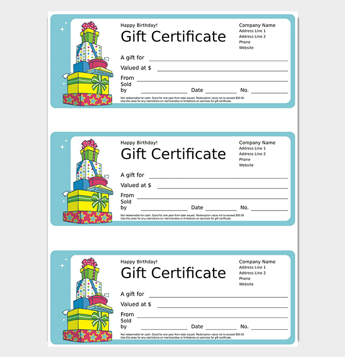 44  free printable gift certificate templates  for word  u0026 pdf