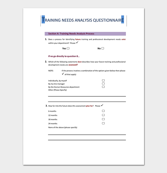 Needs Analysis Template - 20+ For (Word, Excel, PDF)