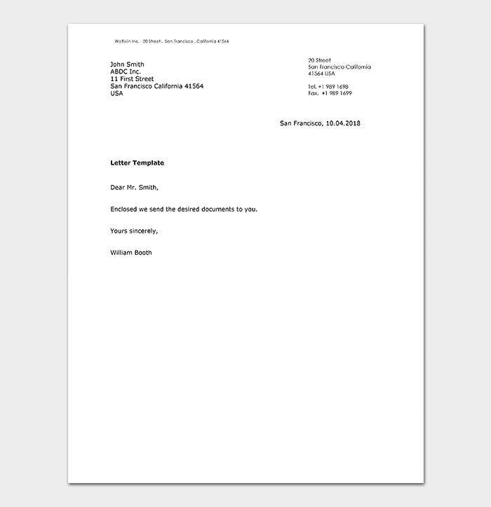 Business letter template 21 samples examples business letter doc accmission Gallery