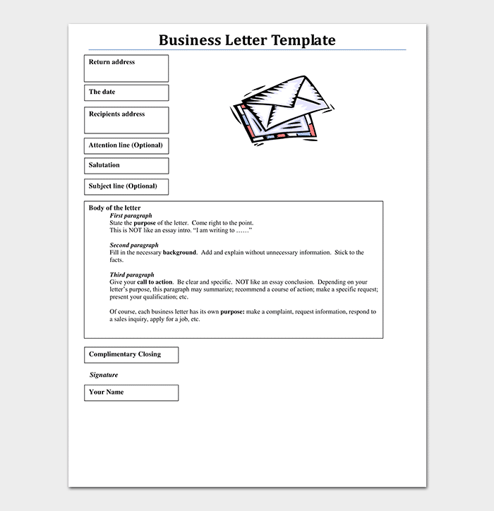 Business letter template 21 samples examples spiritdancerdesigns Image collections