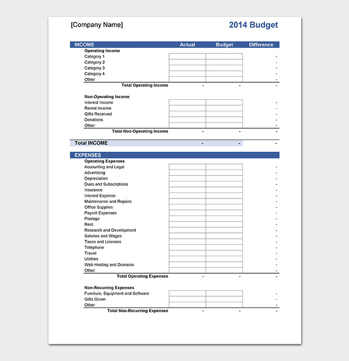 20+ Marketing Budget Templates for (Excel, PDF) - Budget Smart