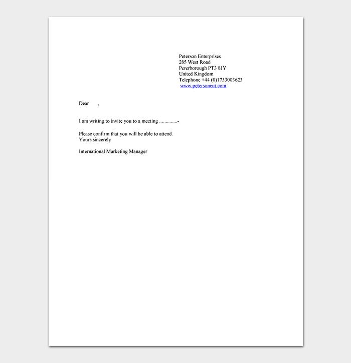 Doc Format Business Letter