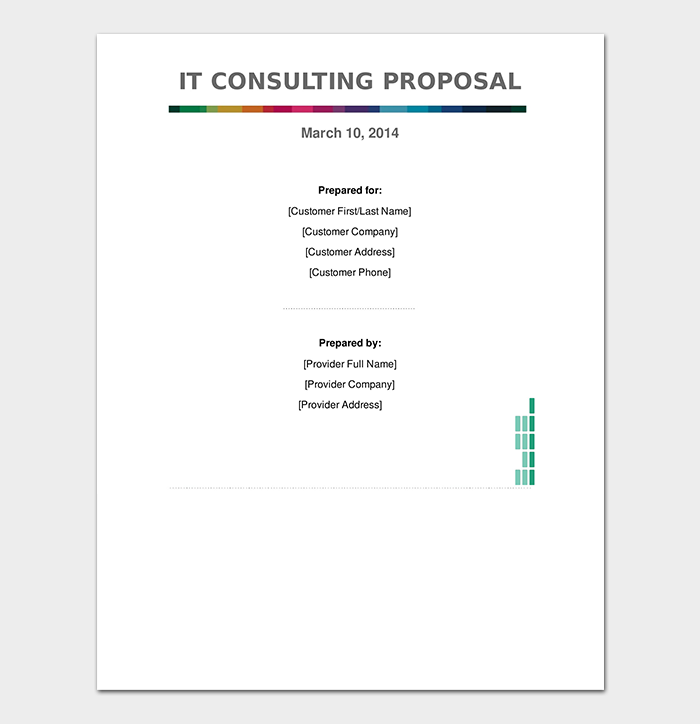IT Consulting Proposal Contract