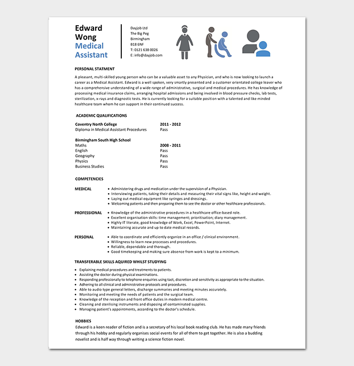 Entry Level Medical Assistant Resume