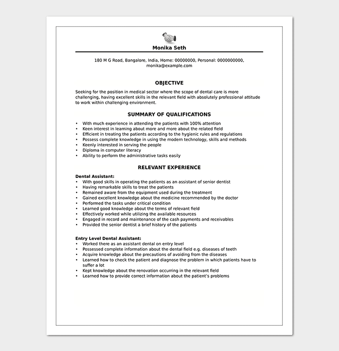 Resume Objectives 35 Statements Samples Examples