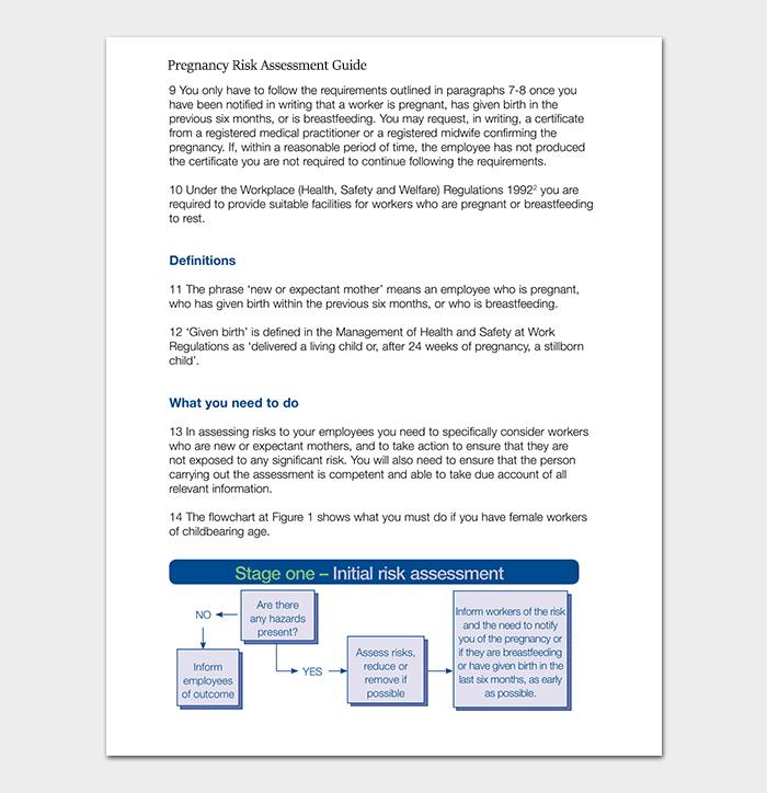 Pregnancy Risk Assessment Guide