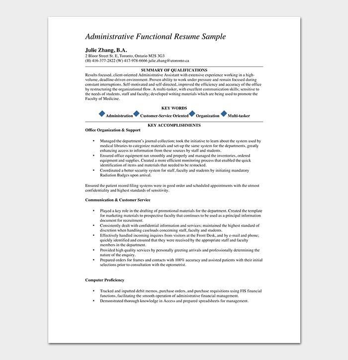 Administrative Medical Assistant CV