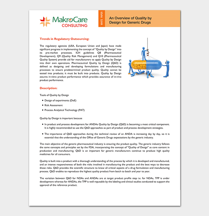 Generic Drugs White Paper