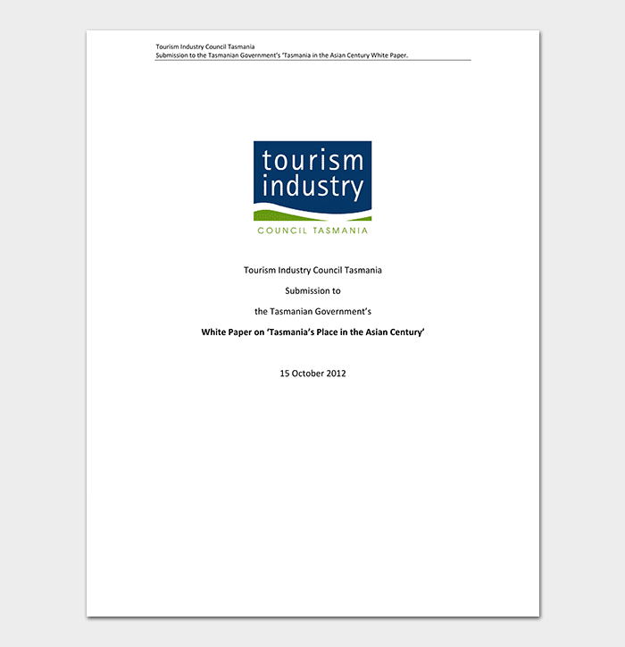 Industry Council White Paper