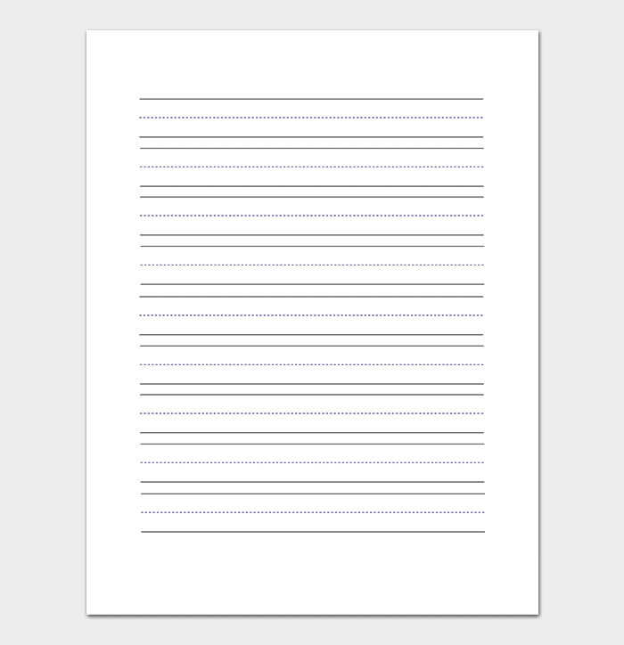 Large Lined Paper