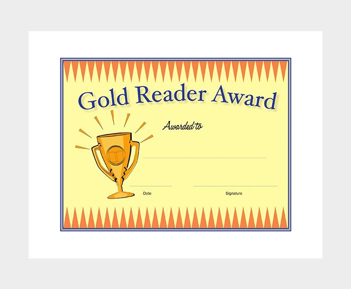 Remarkable Award Certificate