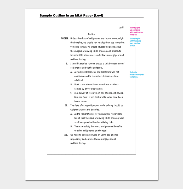 Research Outline Paper